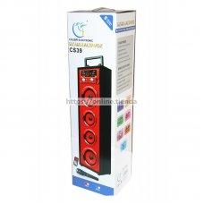Altavoz torre CS39 con microfono Bluetooth USB pendrive TF card memoria radio