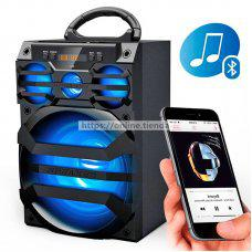 MS-187BT Altavoz bluetooth con luz LED