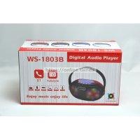 Altavoz WS-1803B Bluetooth USB pendrive TF card memoria radio con LED