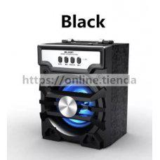 Altavoz MS-193BT Bluetooth USB pendrive TF card memoria radio con luz LED
