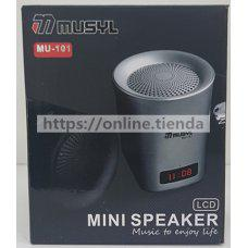 Altavoz MU-101 Bluetooth USB pendrive TF card memoria radio