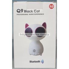 Q9 black cat Altavoz bluetooth