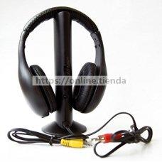 CC-5001 Auricular casco PC Television TV FM con receptor FM
