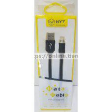 Cable HYT quick charge & data para microusb v8