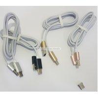 Cable magnetico para tipo-c tipo c con luz de indicador