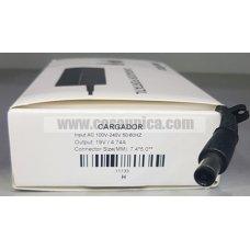 Cargador de Portatil 19V 4.74A 90W 7.4*5.0mm para HP ref:11133