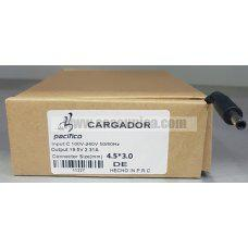 Cargador de Portatil 19.5V 2.31A 45W 4.5*3.0mm para DELL ref:11227