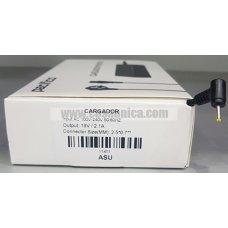 Cargador de Portatil 19V 2.1A 40W 2.5*0.7mm para ASUS ref:11411