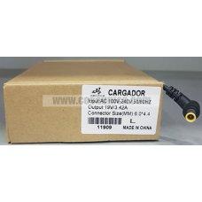 Cargador de Portatil  19V 3.42A 65W 6.0*4.4mm para LENOVO ref:11909