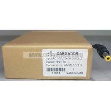 Cargador de Portatil  16V 4.5A 72W 5.5*2.5mm para LENOVO ref:11912