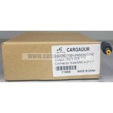 Cargador de Portatil 19V 3.42A 65W 4.0*1.7mm para HP ref:11955