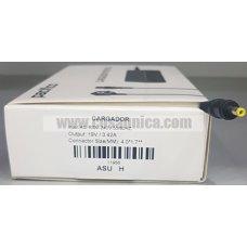 Cargador de Portatil 19V 3.42A 65W 4.0*1.7mm para ASUS HP ref:11956