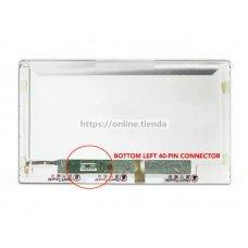 Pantalla de portátil 15.6 purgada normal de 40 pin de conector