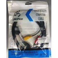 Cable USB Macho - 3RCA Macho