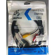 Cable USB Macho - 3RCA Macho