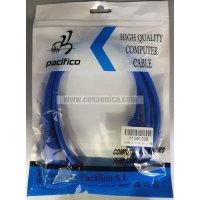 Cable USB 3.0 tipo A Macho - tipo B Macho