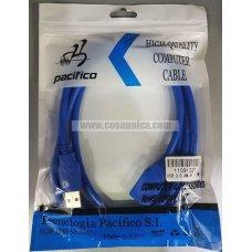 Cable USB 3.0 Macho - USB 3.0 Hembra