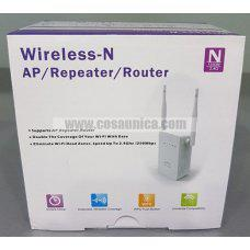 Repetidor doble antena Wi-Fi WIFI extender 1200M AP repeater router