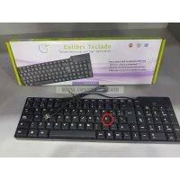 Teclado CETU-8153 con cable USB  (letra Ñ)