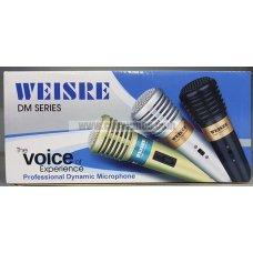 Microfono 6.35mm conector DM-993