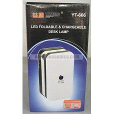 Lampara LED con bateria recargable YT-666 angulo ajustable