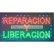 Panel de LED REPARACION Y LIBERACION