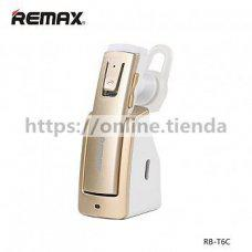 Remax RB-T6C Auricular bluetooth con dock