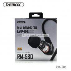 Remax RM-580 Dual Moving Coil Auricular con cable