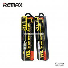 Remax RC-042t Strive cable para iphone y microusb v8 data carga 2 en 1 con luz indicator