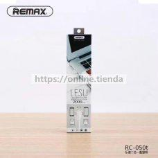 Remax RC-050t Lesu cable 2 en 1 para iphone y microusb v8