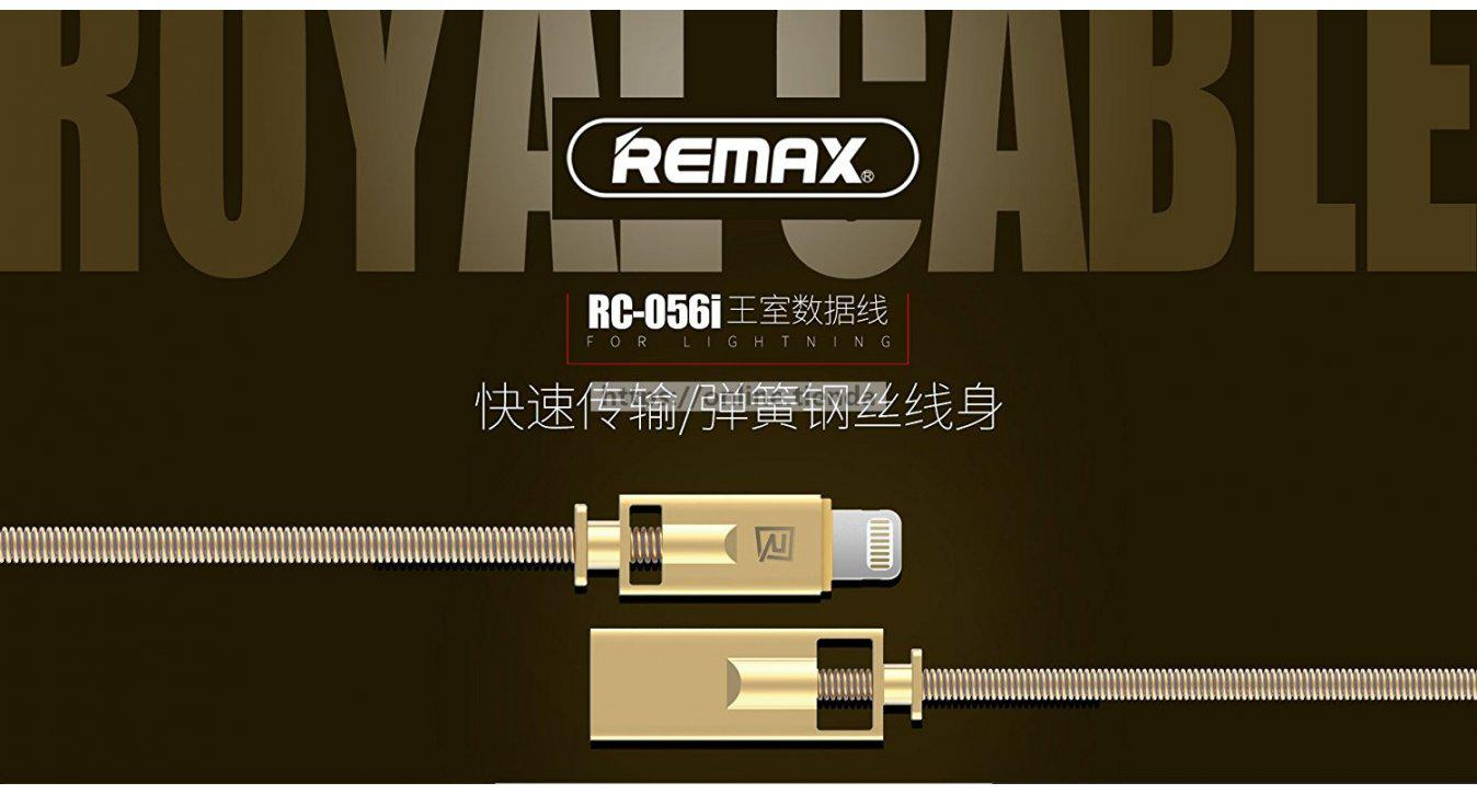 Remax RC-056i Royal Lightning cable para iphone