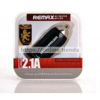 Remax Cargador de coche 2.1A