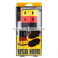 Remax USB HUB safe enough 4 USB 5V-6A cargador