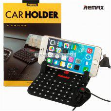 Remax Car Holder Soporte de coche para movil con cargador magnetico