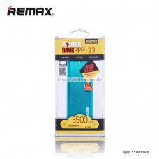 Remax RPP-23 Vanguard power bank 5500 mAh