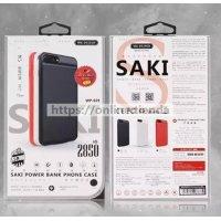 Remax WK WP-029 Funda con bateria para iphone6 iphone7 2850 mAh